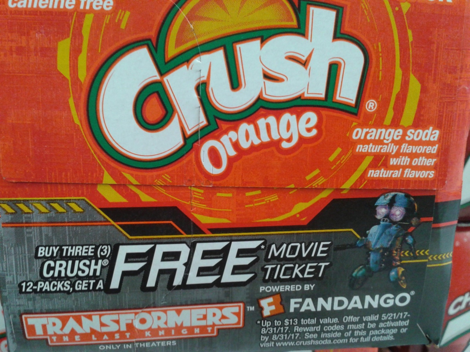 Transformers News: Crush Soda Transformers: The Last Knight Promotional Packs