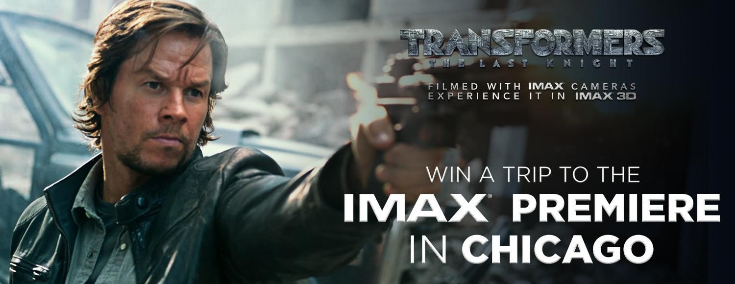 Transformers News: Transformers: The Last Knight IMAX Sweepstakes for North America: Win the Chicago Premiere