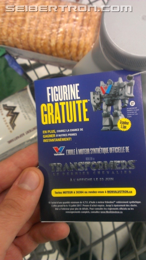 Transformers News: Transformers: The Last Knight Valvotron Figure Promotion Available to Canadians in English and Frenc