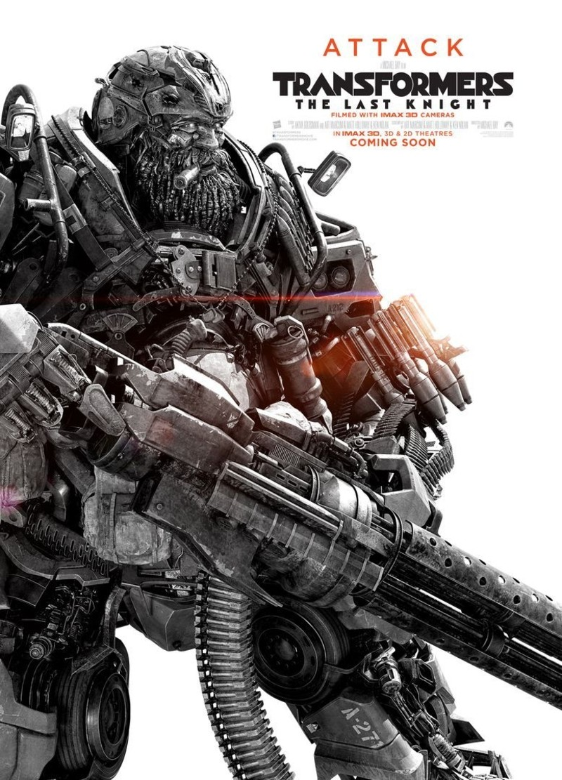 full 12 posters for transformers the last knight featuring robot and human cast. Black Bedroom Furniture Sets. Home Design Ideas