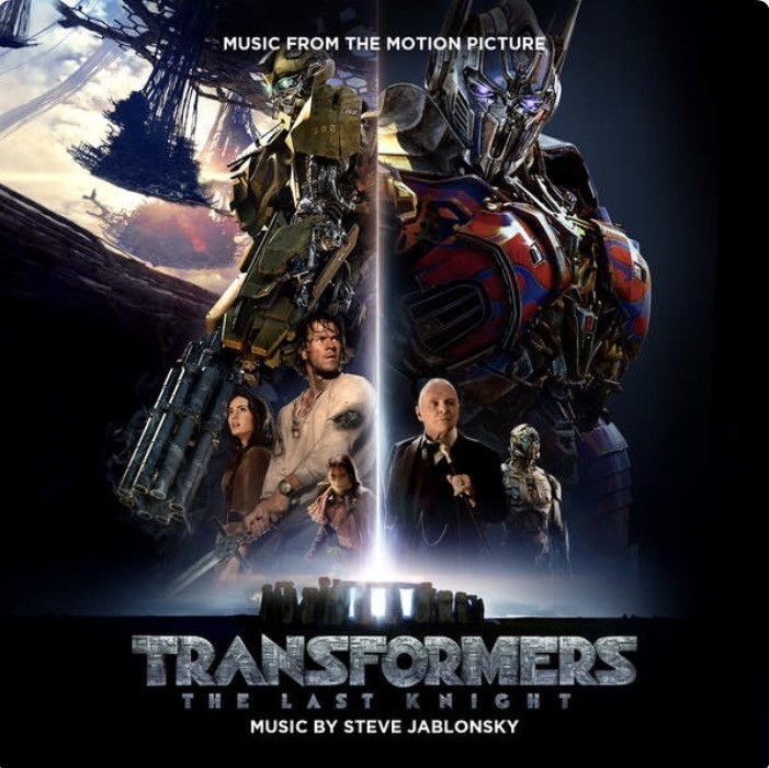 Transformers News: Transformers: The Last Knight Score by Steve Jablonsky Now on iTunes and Spotify