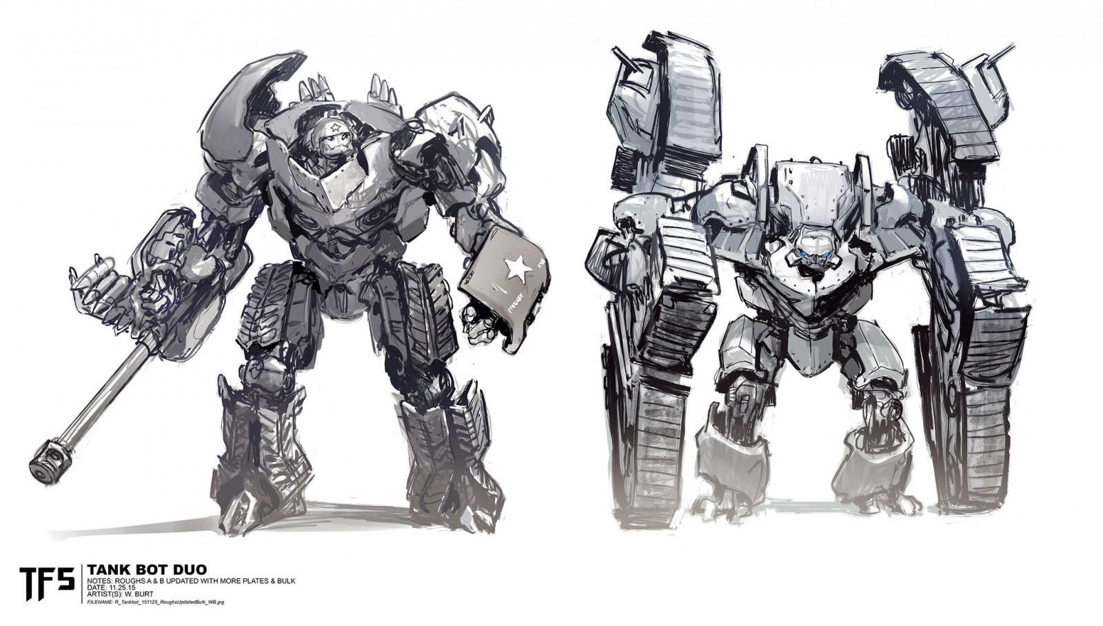 Transformers News: More Concepts for Transformers: The Last Knight Dragonicus, Bulldog, Mega by Tedeschi, Pringle, Burt