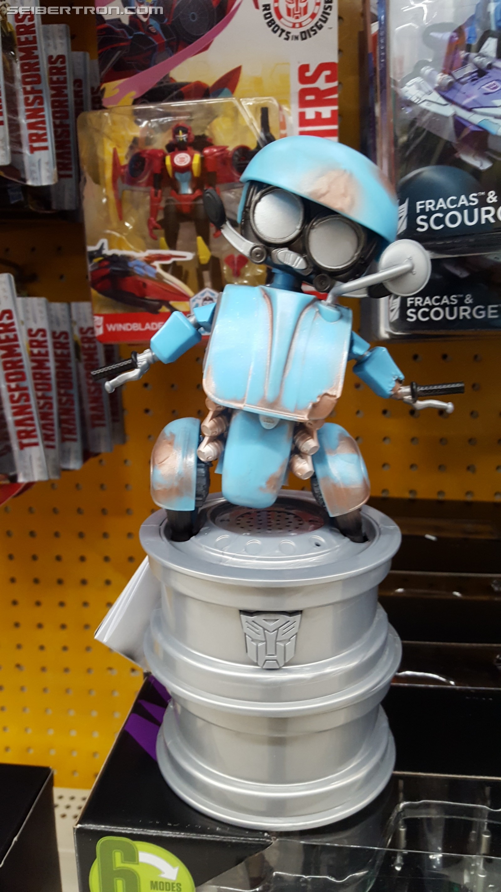 Transformers News: Transformers: The Last Knight Dancing Sqweeks Found at US Retail