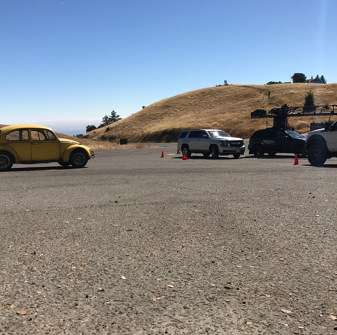 Transformers News: Transformers Universe: Bumblebee Filming at Mt Tamalpais, Jason Drucker Arrives on Set