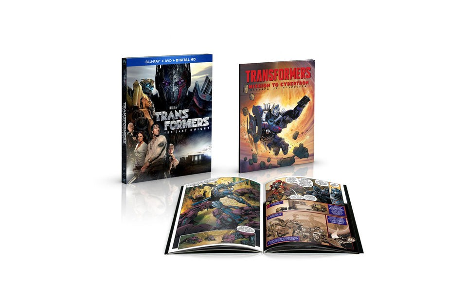 Transformers News: Toys'R'Us and Walmart Exclusive Transformers: The Last Knight Home Release with Extras