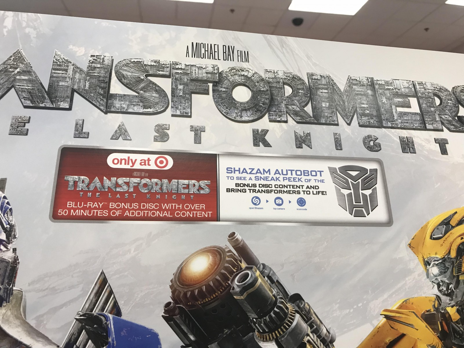Transformers News: Transformers The Last Knight Now Available in Stores, Target Exclusive Includes Combiner Wars Series