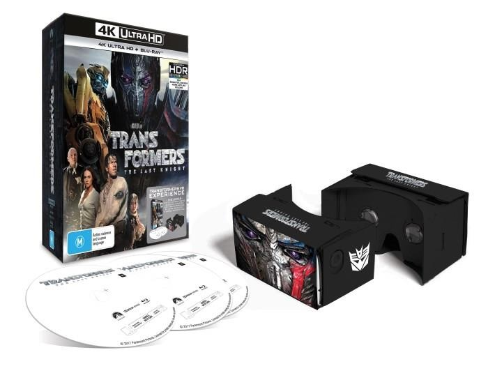 Transformers News: Transformers: The Last Knight Blu-Ray Out in Australia Now with Special Edition Info