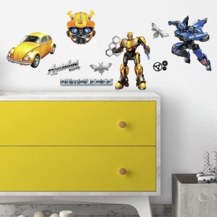 Transformers News: Round-Up of Transformers #BumblebeeMovie Products: Calendar, Decals, Toppers