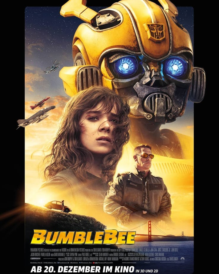 Transformers News: New Transformers Bumblebee Poster Revealed #JoinTheBuzz