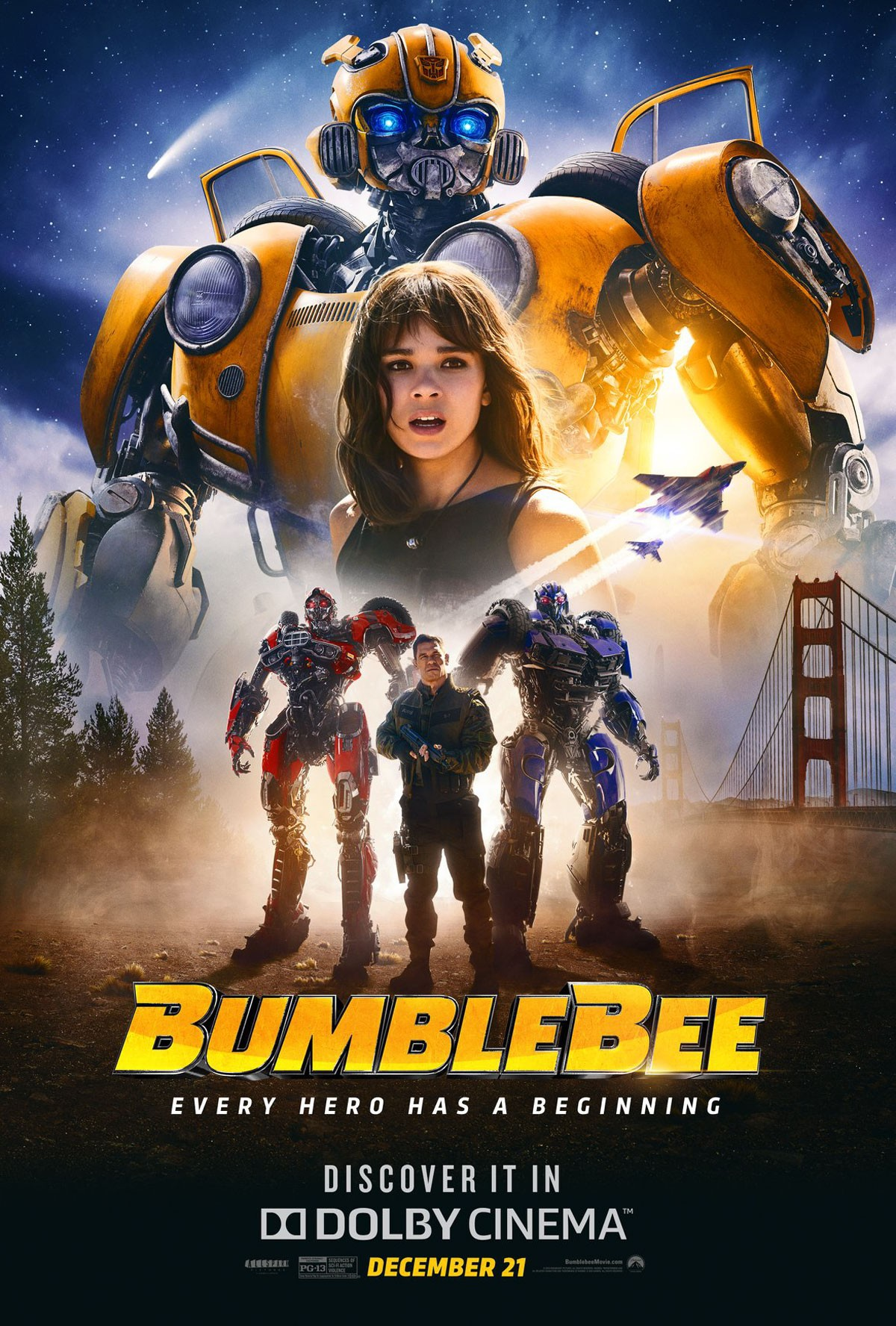 Transformers News: Re: Transformers Bumblebee Movie Discussion Thread