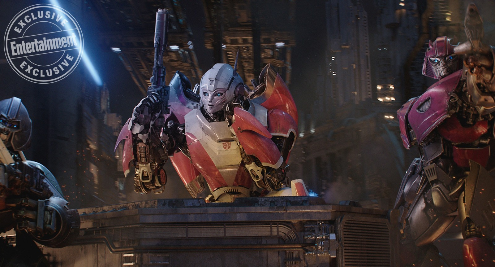 Transformers News: High Definition Images of Wheeljack, Arcee, Cliffjumper and More from Bumblebee Movie