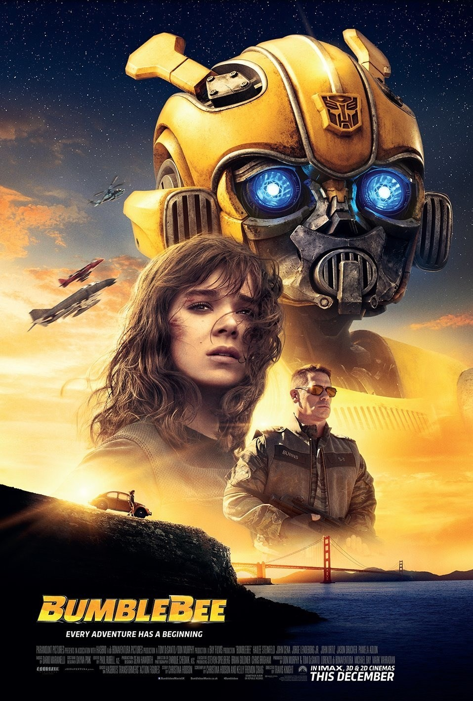 Transformers News: Transformers Bumblebee Opens in Third Place in Opening Weekend