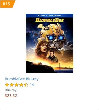 Transformers News: Bumblebee 4K, Blu-Ray and DVD up for Pre-Orders on Amazon