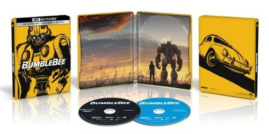 Transformers News: Exclusive Best Buy Ultra 4K HD Blu-ray Transformers Bumblebee Movie Steel Book Set Revealed