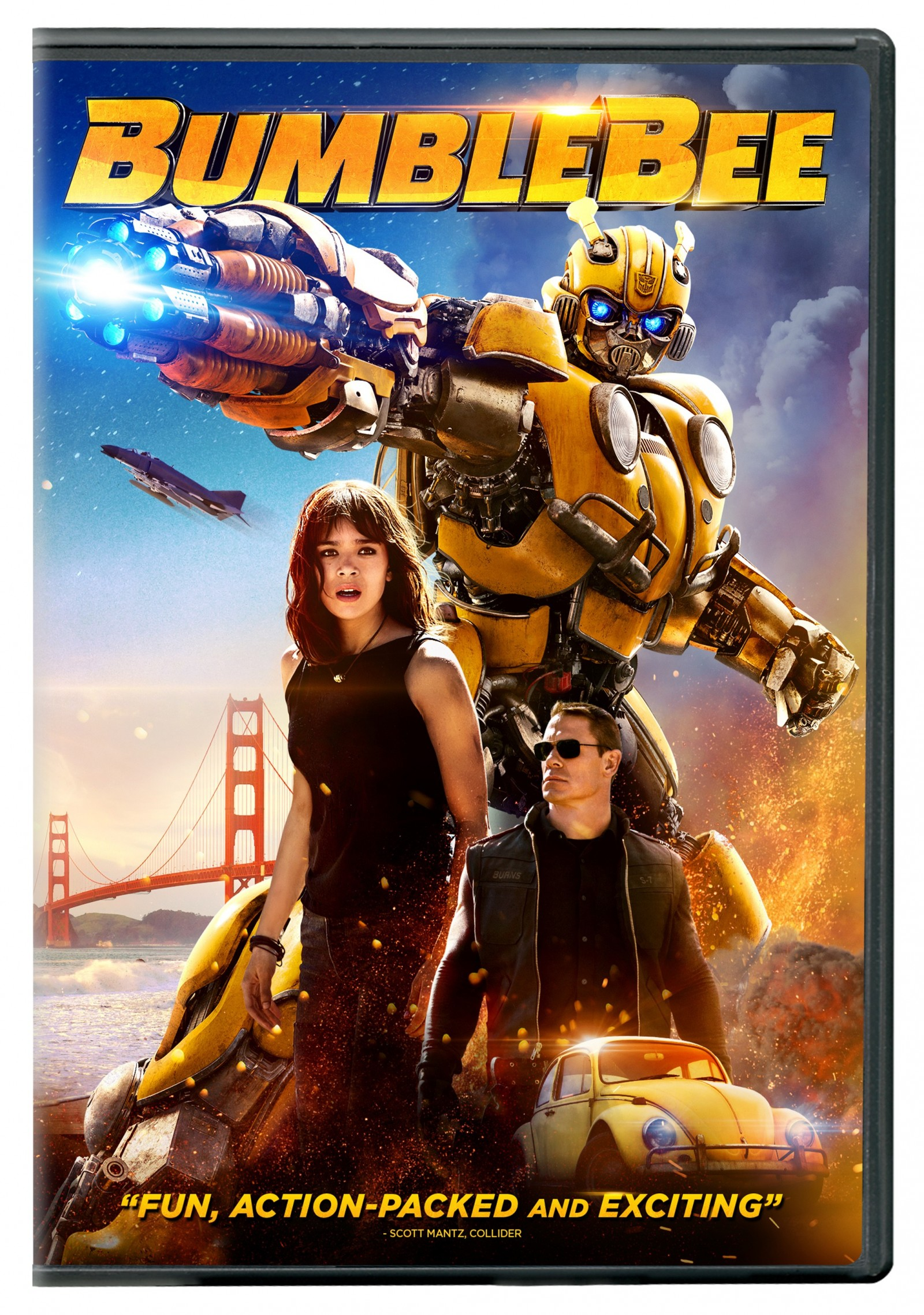 Transformers News: Bumblebee Movie Blu-Ray trailer, special comic, and artwork for 4K, Blu-Ray and DVD revealed