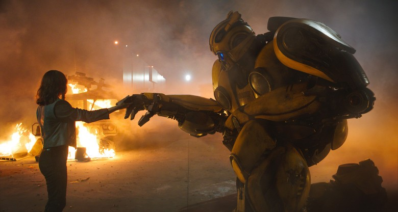 Transformers News: Travis Knight Explains why Bumblebee and Charlie Parted Ways at the End of the Film