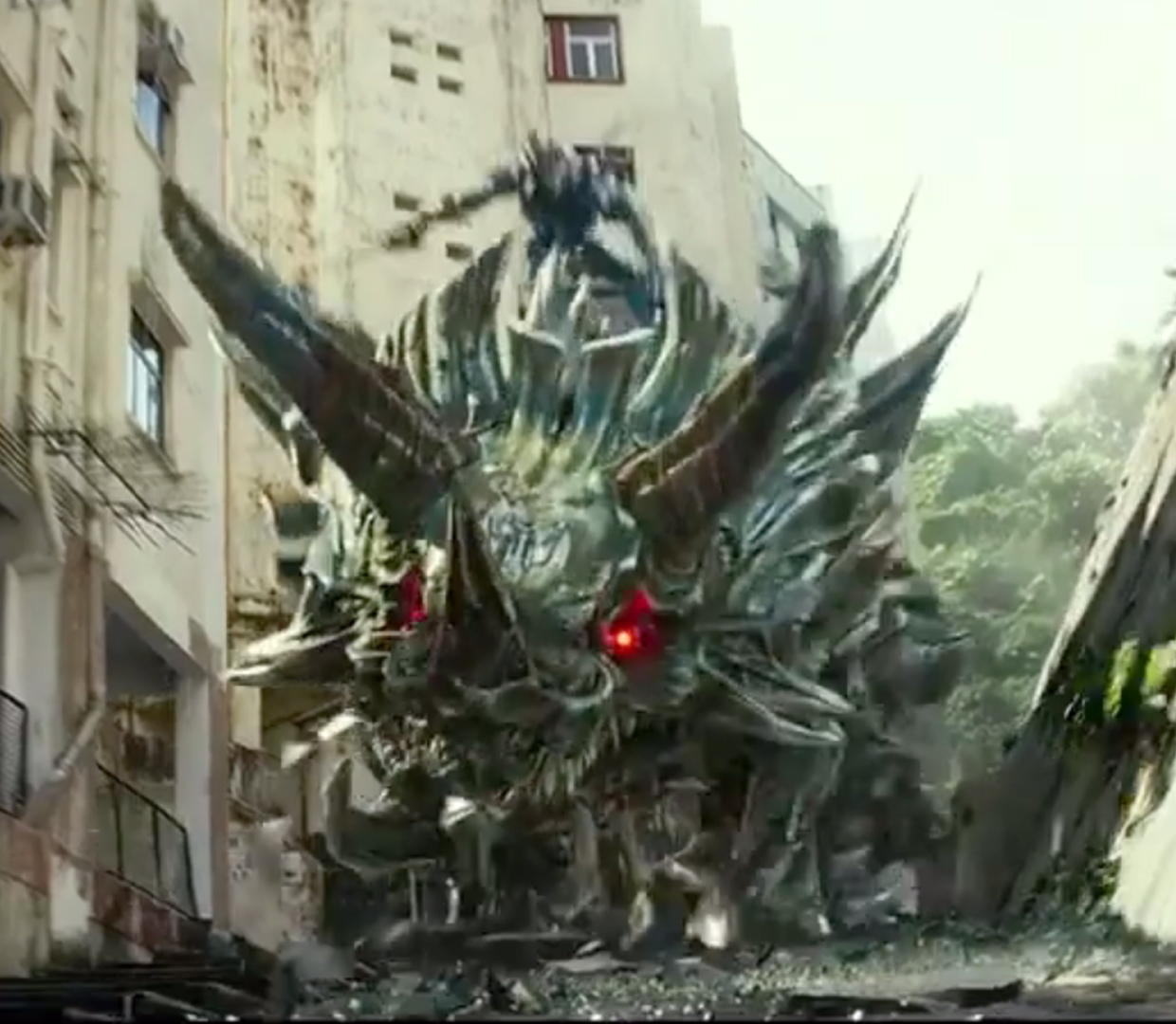Transformers: Age of Extinction New Trailers - Dinobots ...