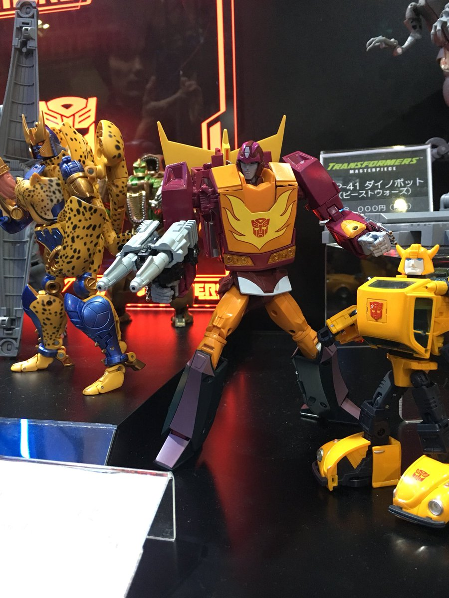 TRANSFORMERS MASTERPIECE MP-40 TARGETMASTER HOT RODIMUS ACTION FIGURES