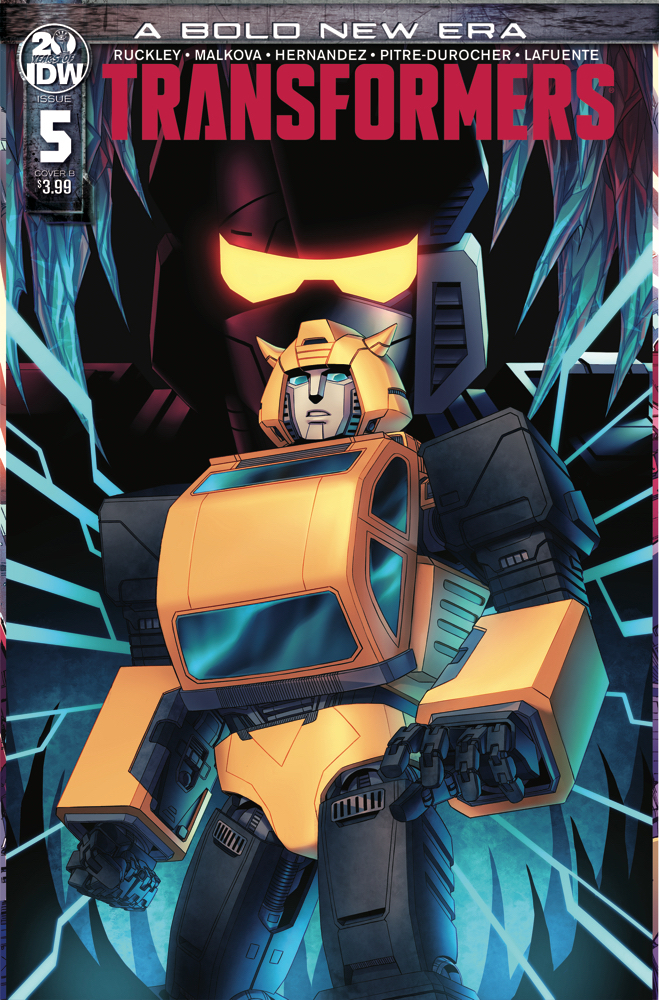 TRANSFORMERS GHOSTBUSTERS #5 Cover B IDW Comics 2019 Ghost of Cybertron 5B