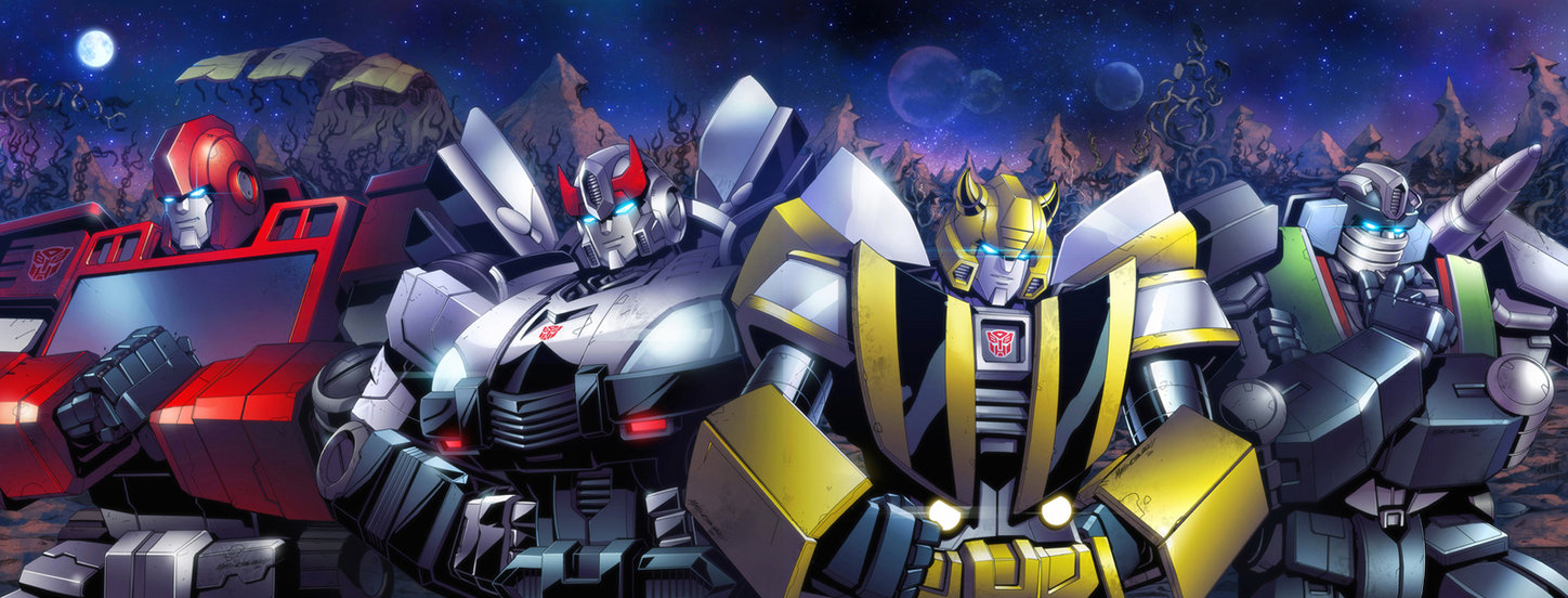 Transformers News: Transformers MTMTE and RID Cover Art