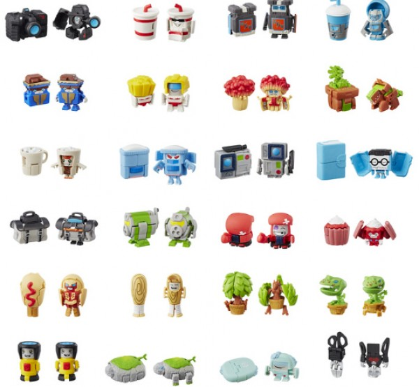 Dinosaurs Mdf Toy Box Childrens Storage Toys Games Books: Official Images Of 24 Transformers Bot Bots With Both