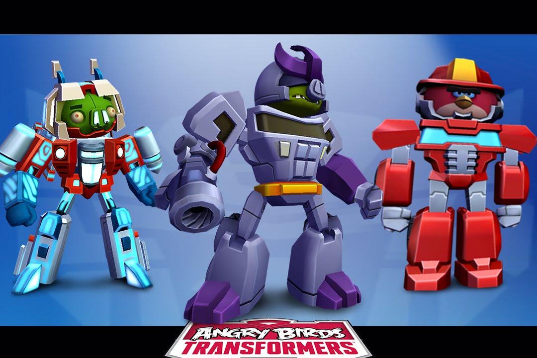 Angry Birds Transformers Novastar