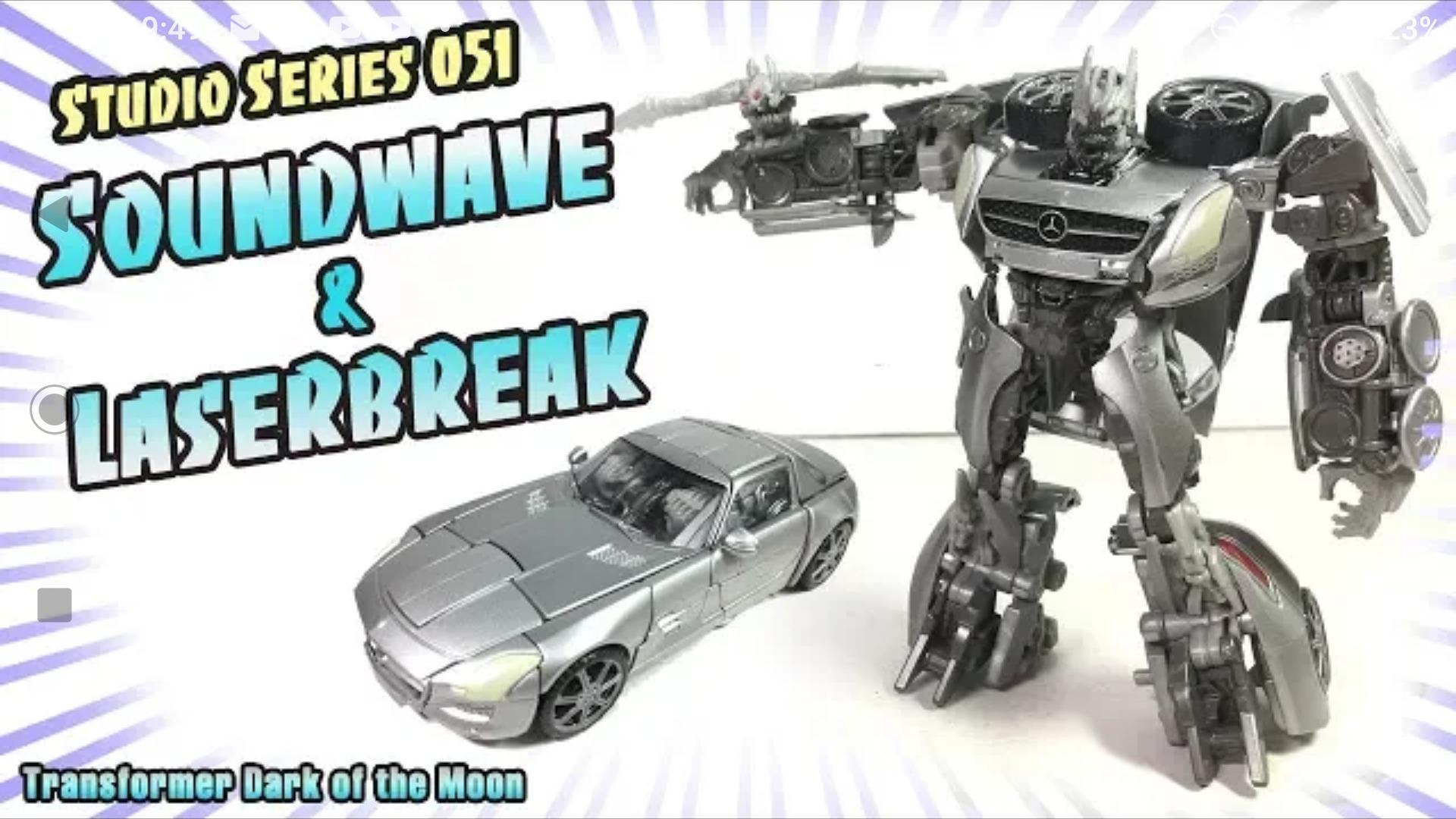 Transformers Studio Series #51 Soundwave DLX Class NEW SEALED