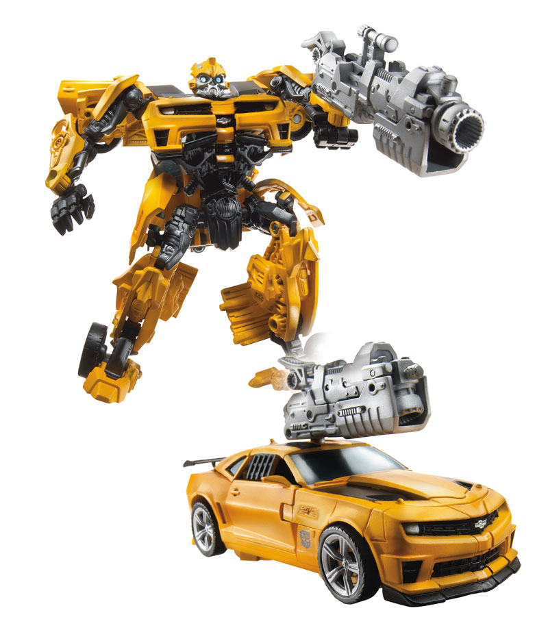 All Transformers Toys : Transformers dotm deluxe bumblebee video review