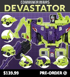 BBTS Sponsor News: Transformers Devastator, Marvel Play Arts Kai