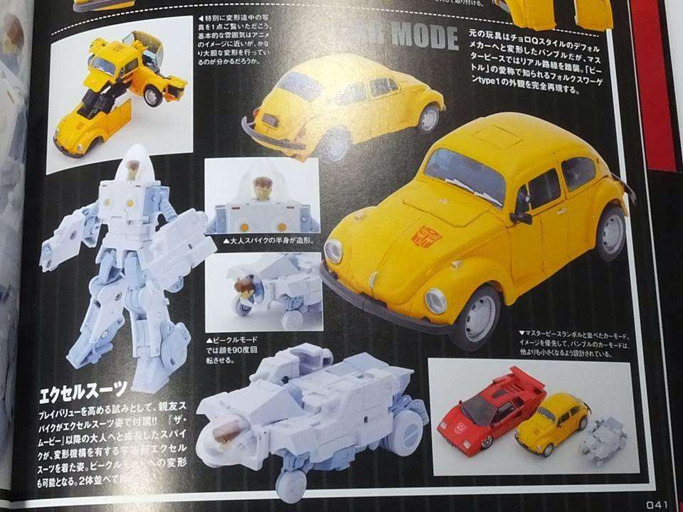 Transformers News: Colour Images - Takara Tomy Transformers Masterpiece MP-21 Bumblebee and Spike