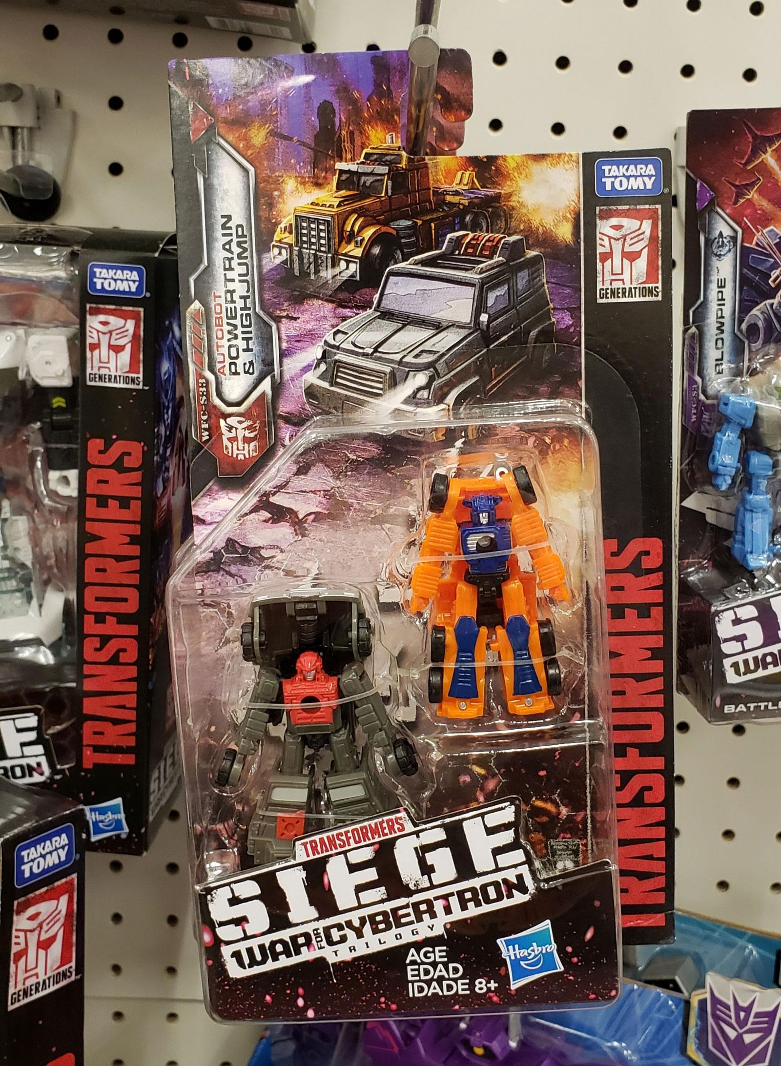 HighJump Transformer Generation 1 G1 Autobot figura OFF ROAD Patrol