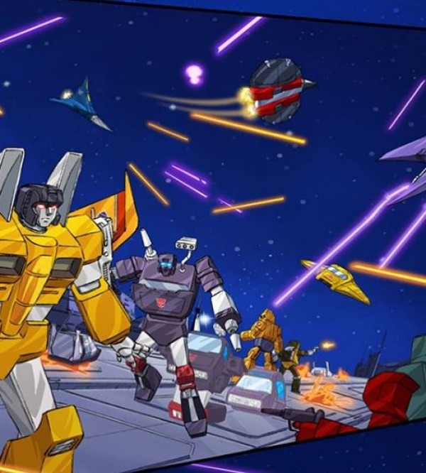 Preview of Cybertron From IDWs Transformers x Ghostbusters Crossover