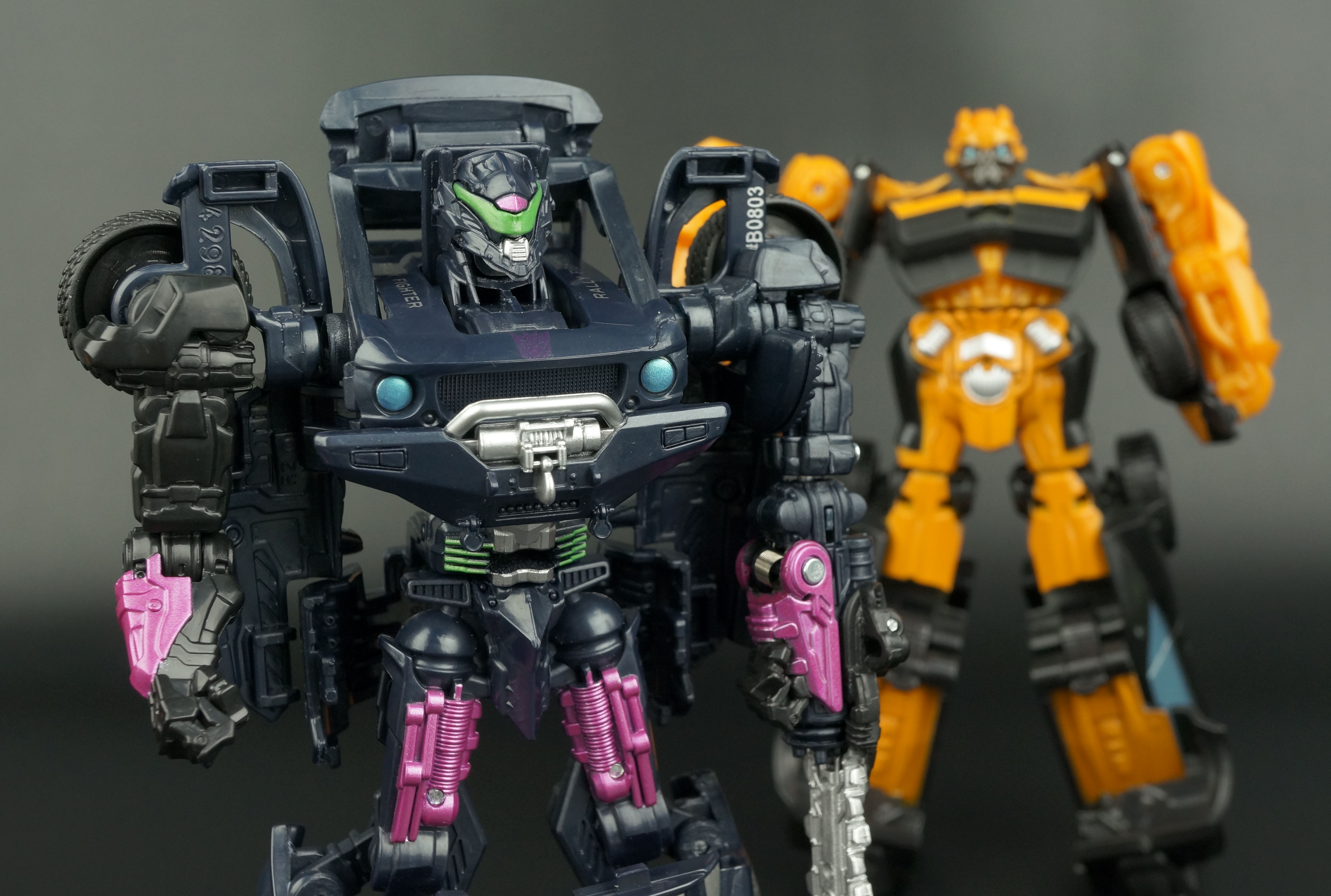 Power Attackers CHAINSAW THRASH VEHICON Transformers Age of Extinction AOE New
