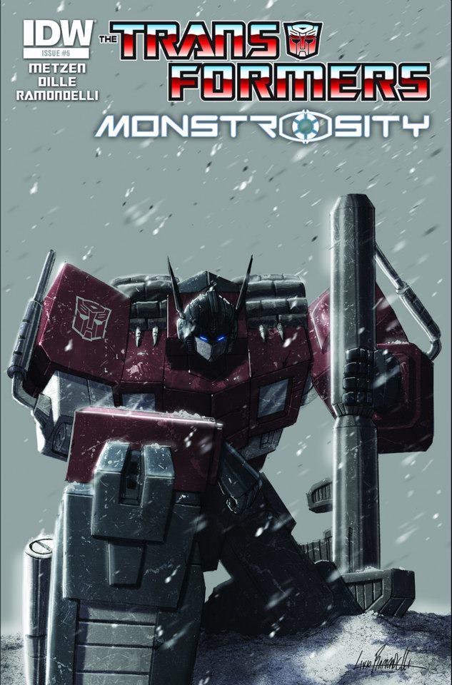 Transformers News: Transformers: Monstrosity #5 Cover Art Revealed