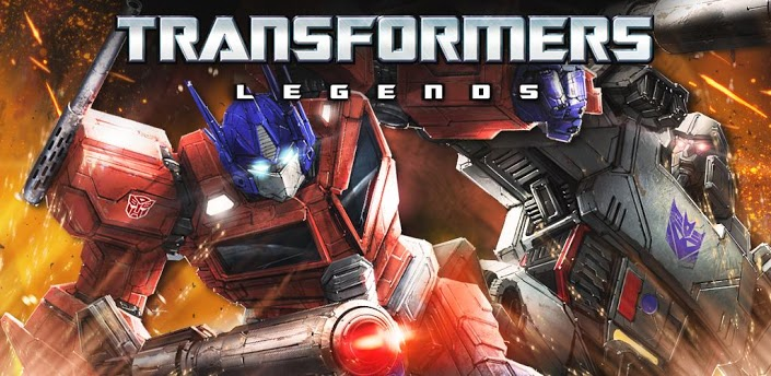 Transformers News: Transformers: Legends Mobile Device Game Now Available in the US