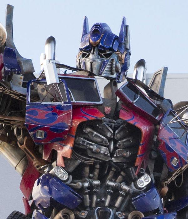 Life-Size Optimus Prime Atop Universal Orlando Resort's