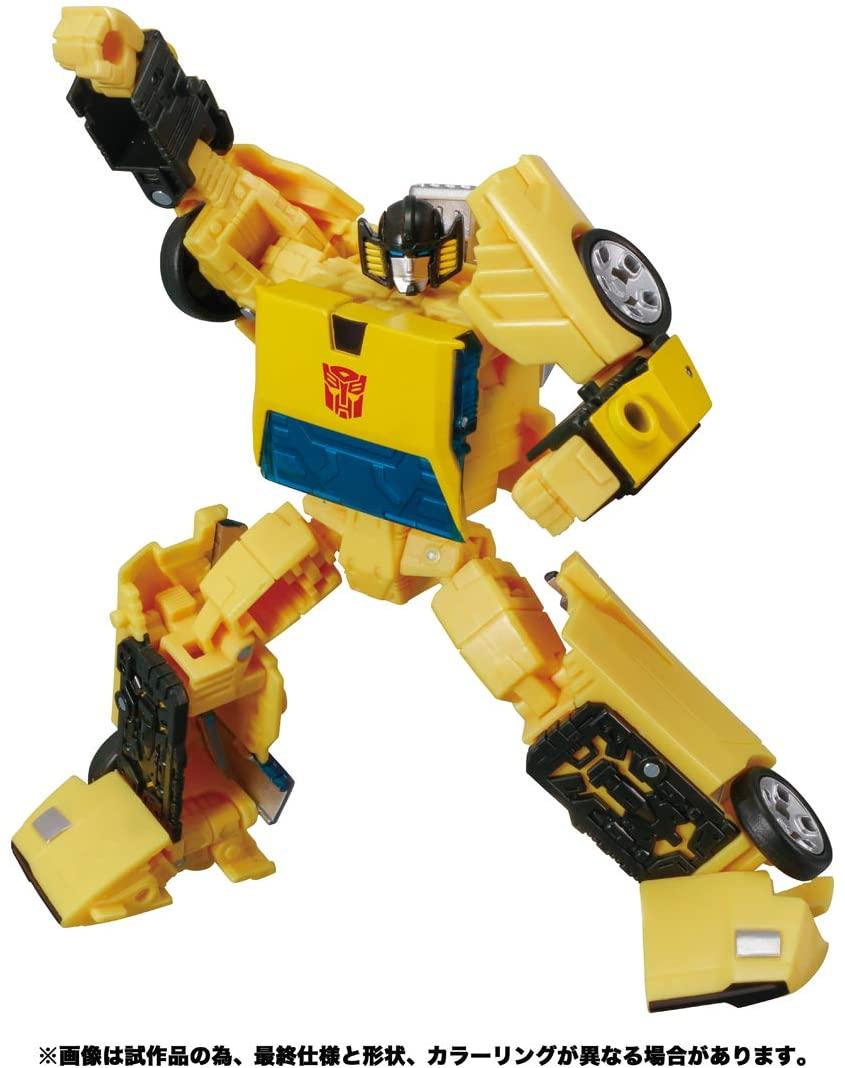 Transformers TAKARA TOMY HASBRO Earthrise SUNSTREAKER Action figure in hand