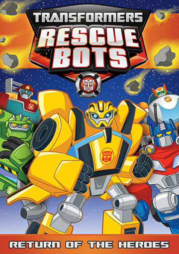 Transformers: Rescue Bots DVD Shout! Factory Releases   Jurassic Adventure  And Return Of The Heroes