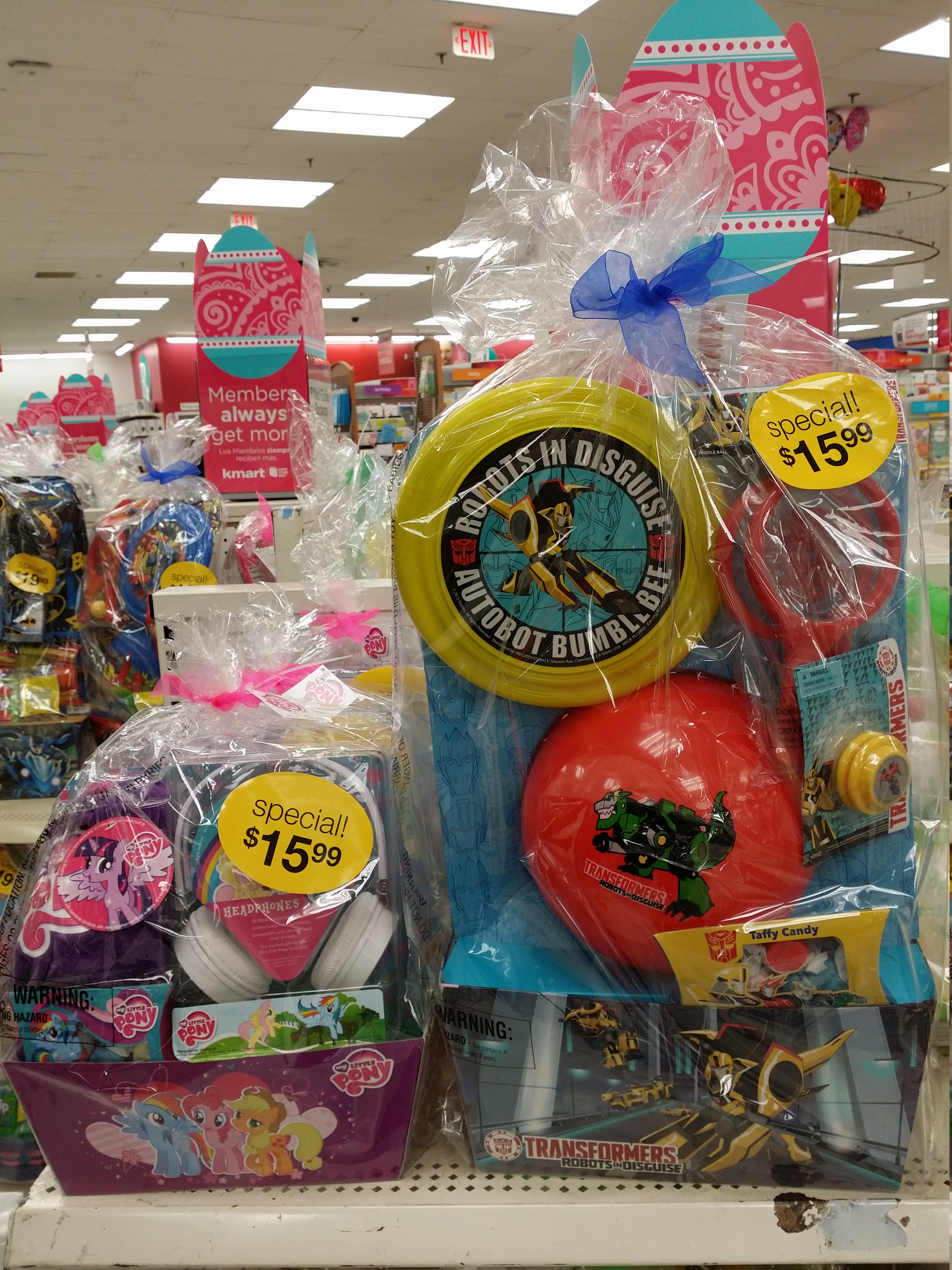 Transformers robots in disguise easter baskets at kmart negle Gallery