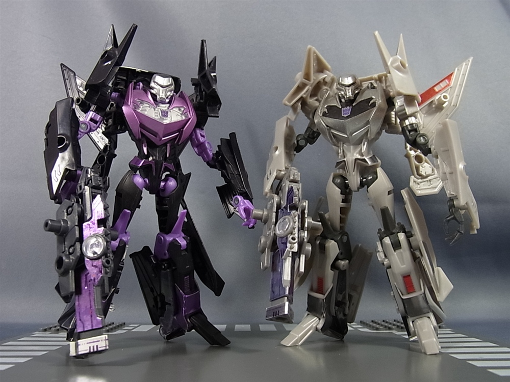 Transformers News: In-Hand Images: Takara Tomy MP-14 Rumble & Jaguar, Generation Wave 3, Arms Micron AM-33 Final Battle Megatron, and AM-34 Jet Vehicon General