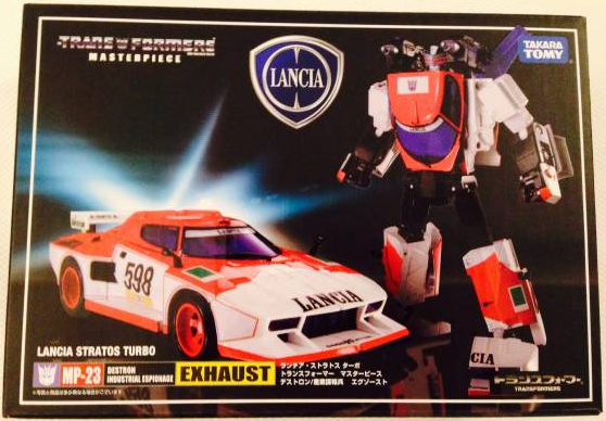 TRANSFORMERS MASTERPIECE MP-23 EXHAUST Decepticon Action Figure Toy Takara Tomy