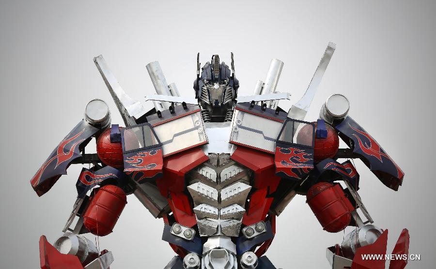 Optimus Prime Truck Tour