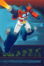 New Optimus Prime Print From Acid Free Available Today