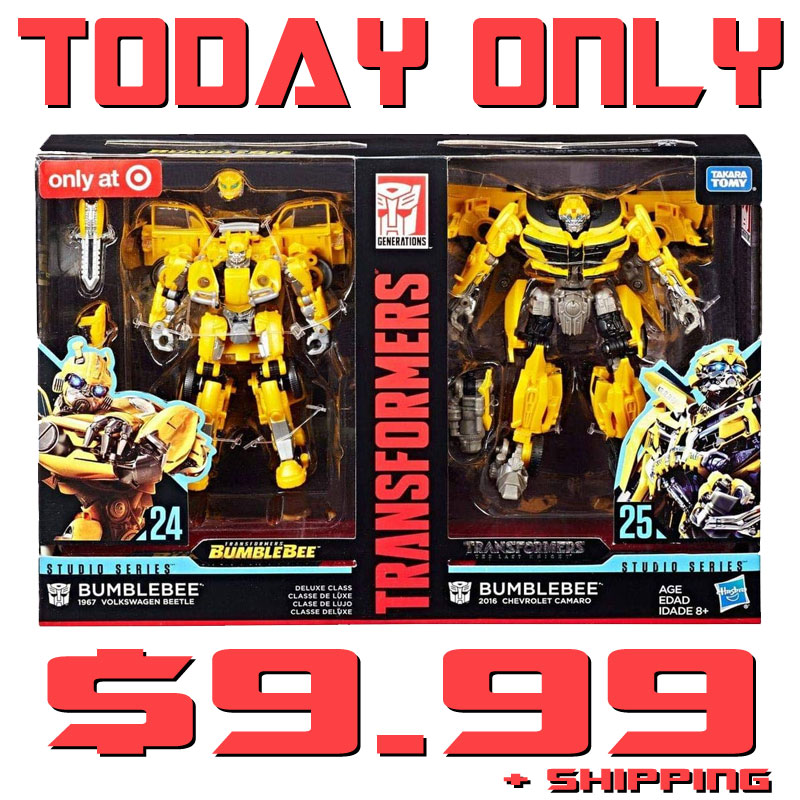 Transformers Studio Series Bumblebee Showcase Helmet Toy NEW DAMAGED BOX