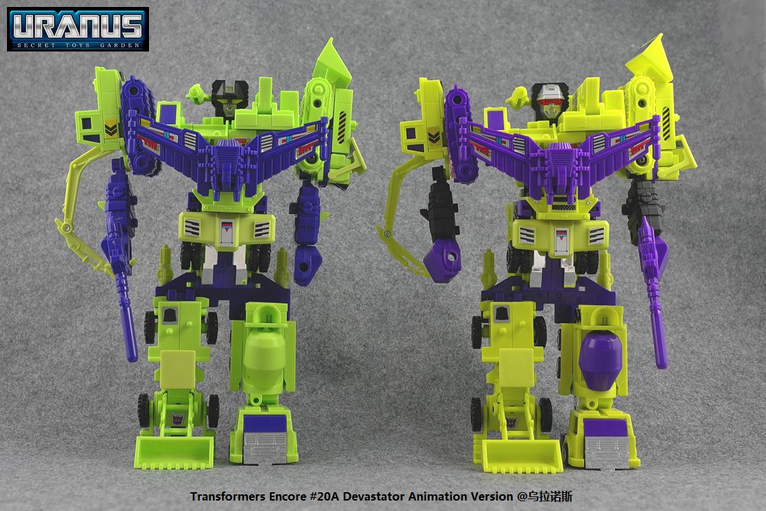 Transformers News: Comparison Images: Encore 20A Anime Devastator