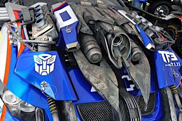 Dark Of The Moon - Wreckers at Daytona 500! - Transformers