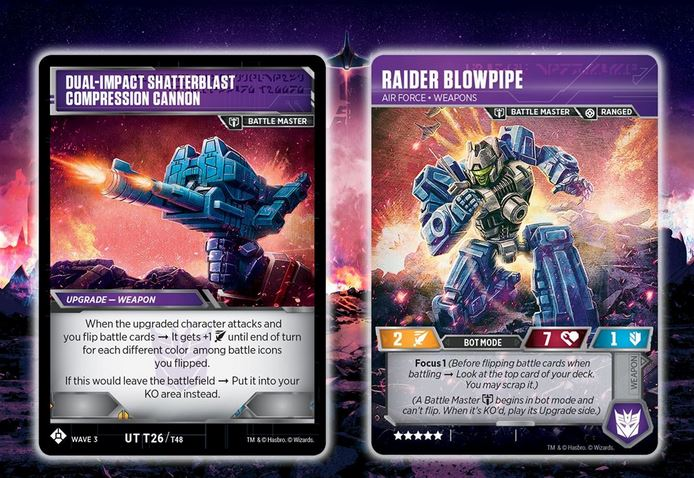 Transformers TCG Siege Wave 3 Common Battle Cards  *You Choose*