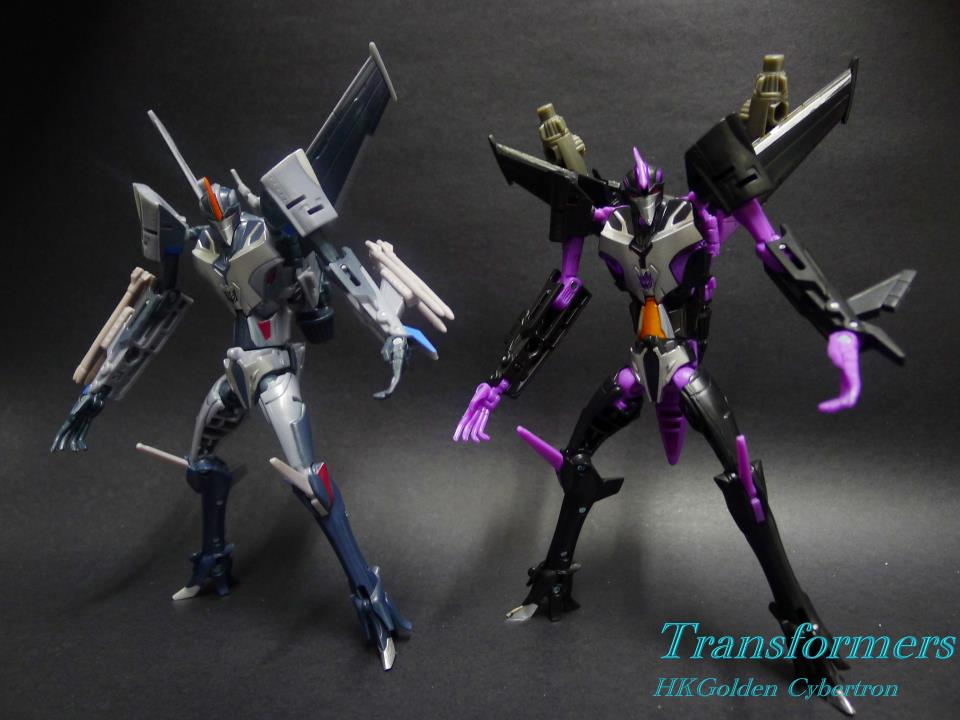 Transformers News: Transformers Prime Arms Micron AM-06 Skywarp Gallery