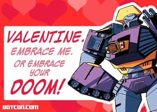 Happy Valentineu0027s Day From Machine Wars Strika And Hoist   Transformers