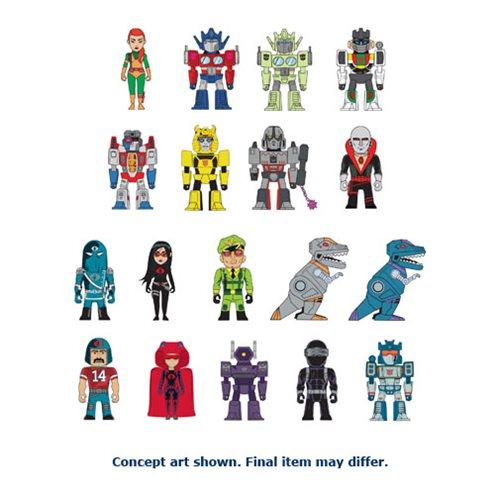 Transformers News: KidRobot TF vs GI Joe Vinyl Figures and Merchandise!